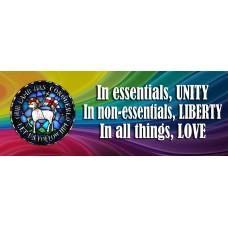 Moravian Motto Banner