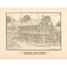 Single Brothers House Print