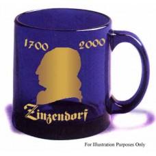 Cobalt Blue Zinzendorf Commemorative Mug